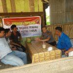 Polsek Sangatta Utara Polres Kutai Timur melaksanakan kegiatan FGD