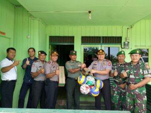 Kapolres Kutai Timur mengajak TNI dan POLRI bersinergi sampai level paling bawah dalam menjaga Kamtibmas di Kabupaten Kutai Timur