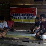 Polres Kutai Timur Polsek Ma.Ancalong melaksanakan kegiatan FGD untuk menyerap aspirasi masyarakat