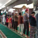 Polsek Ma.Ancalong Polres Kutai Timur melaksanakan gerakan memakmurkan Masjid