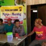 POLSEK BENGALON MELAKSANAKAN KEGIATAN NGOBROL BARENG MASYARAKAT BENGALON