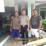 Babinkamtibmas Polsek Muara Bengkal Brigpol Murhan Ilham telah melaksanakan giat sambang