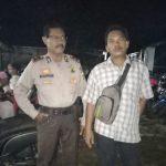 Giat penggalangan oleh Kasium Polsek Muara Wahau Iptu Mat Supron