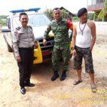 SINERGITAS TNI/POLRI JELANG PILEG & PILPRES 2019 POLSEK RANTAU PULUNG