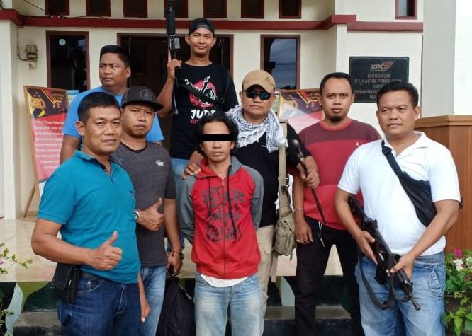 Kurang dari 15 Jam, Pelaku Pembacokan Diamankan Polsek Bengalon