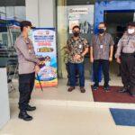 Kapolres Kutim Cek Pengamanan Perbankan Diwilayah Sangatta