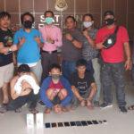 Spesialis Congkel Pintu (Rumahan), 3 Orang Residivis Diamankan Unit Opsnal Sat Reskrim Polres Kutim