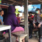Sambang Kamtibmas Kapolres Kutai Timur di Warung Warga
