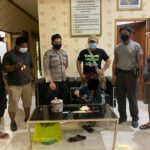 Polsek Bengalon Tangkap Warga Pemilik 7 Paket Sabu di Bengalon