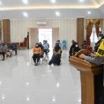 Jalin Silaturahmi, Kapolres Kutim Laksanakan Tatap Muka Kepada Purnawirawan Polri dan Warakauri