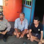 Menjalajahi Sisi Terdalam Wilayah Kutim, Kini Kapolsubsektor Karangan Sambangi Masyarakat