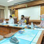 Gelar Rakor Kesiapan HUT RI Ke – 75 Di Pemkab, Wakapolres Kutim Pimpin Bersama Kabag Pemerintahan Kab. Kutai Timur