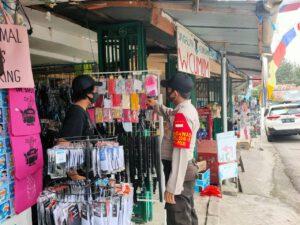 Polres Kutim Kawal Perkembangan Harga Masker