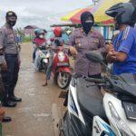 Sinergitas TNI-Polri, Polres Kutim Terapkan Pendisiplinan Protokol Kesehatan di Kutai Timur