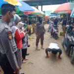 Upaya Pendisiplinan Protokol Kesehatan Terus Digencarkan Oleh Personil Polres Kutai Timur