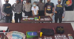 Polsek Sangkulirang Amankan Seorang Warga Menyimpan 59 gram Shabu