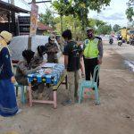 Disiplinkan Pelanggar Prokes, Polres Kutim Bersama FKPD Laksanakan Operasi Yustisi