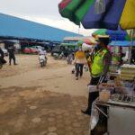 Operasi Yustisi, Polres Kutim Himbau Masyarakat Pasar Induk