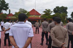 Wakapolres Kutim Berikan Penekanan Tertib Administrasi Kepada Sat Reskrim dan Sat Resnarkoba