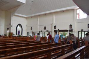 Kapolres Kutim Cek Kesiapan Pengamanan Misa Pekan Suci 2021 Gereja Khatolik Center