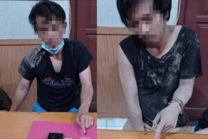 2 Orang Bertetangga Kantongi Shabu-Shabu Diamankan Polsek Sangatta Utara