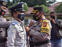 Polres Kutim Laksanakan Gelar Pasukan Ops Keselamatan Mahakam 2021