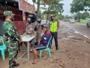 Polres Kutim Gelar Operasi Yustisi, Pelanggar Prokes Masih Ditemukan