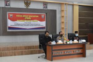 Polres Kutim Gelar Focus Group Discussion (FGD) Bersama Tokoh Agama, Pemuda dan Masyarakat
