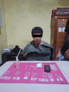 Tidak Pandang Umur Seorang Laki – laki Berumur 40 thn berkerja menjadi Bandar Narkotika.