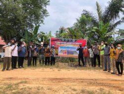 Aplikasikan Program Prioritas Kapolri, Polsek Sangkulirang Resmikan Kampung Tangguh Desa Kolek Kec. Sangkulirang