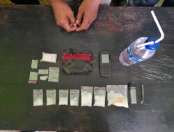Tak Pernah Lelah Tumpas Habis Narkotika, Polsek Muara Ancalong Kembali Amankan Pria Bawa Sabu 52,8 Gram