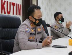 Dukung Pray From Home, Kapolres Kutim Laksanakan Diruang Vicon