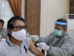 Gelar Vaksinasi Massal, Hari Ini Polres Kutim Berhasil Vaksis Sebanyak 60 Vial