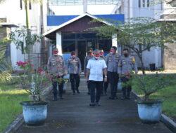 Operasi Aman Nusa II, Polres Kutim Bersama Tim Supervisi Polda Kaltim Tinjau Pos PPKM Dan Tempat Isoter