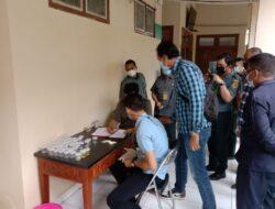 Kolaborasi Sat Resnarkoba Polres Kutim dan Pengadilan Sangatta, Tes Urine Digelar Tiba-Tiba
