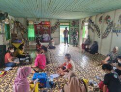 Gerai Vaksinasi Desa Miau Baru, Kapolsek Kongbeng : Kita Targetkan 50 Dosis Bahkan Lebih