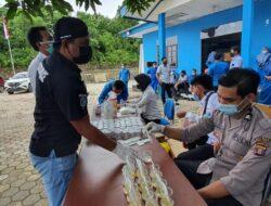 49 Pegawai PDAM Kutai Timur Jalani Pemeriksaan Tes Urine Yang Digelar Sat Resnarkoba Polres Kutim