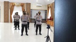 Kapolres Kutai Timur Ikuti Upacara Sertijab Dirreskrimsus Polda Kaltim Secara Virtual