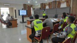 Instruktur Operasi Kepolisian Polres Kutim Berikan Pelatihan Teknis Operasi Patuh Mahakam 2021