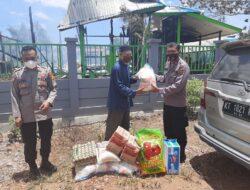 Dengan Niat Meringankan Beban, Sat Binmas Polres Kutim Berikan Bantuan Kepada Pondok Pesantren Dahrul Sholah